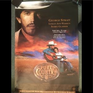 Pure Country Movie Video Poster George Strait